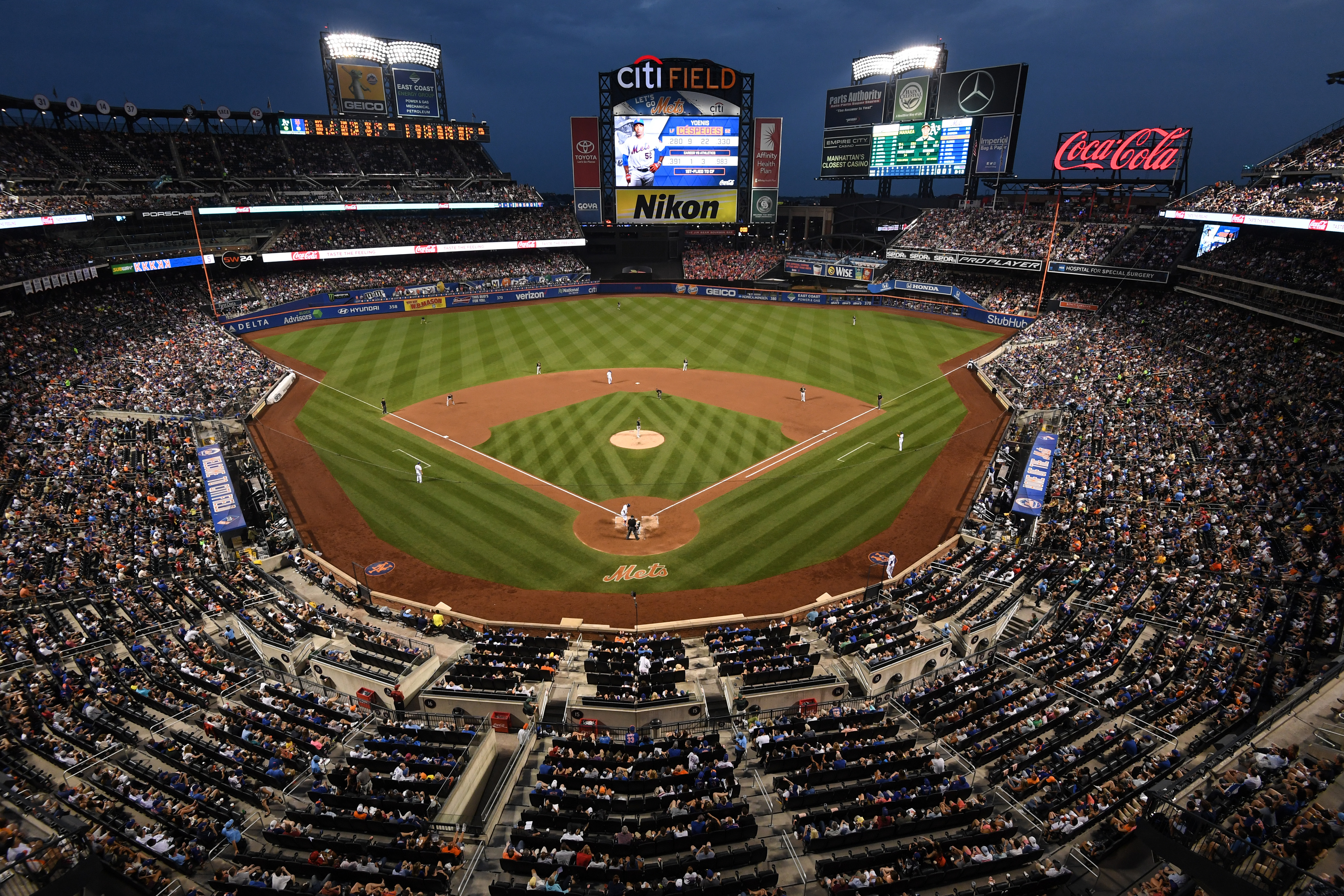 New York Mets Home Stadium Address